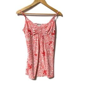 Linea Donatella Pink Floral Slip Nightie Medium